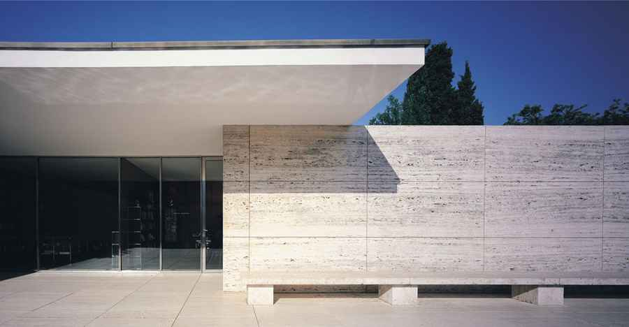 mies van der rohe pavilion barcelona pavilion building e architect. Black Bedroom Furniture Sets. Home Design Ideas