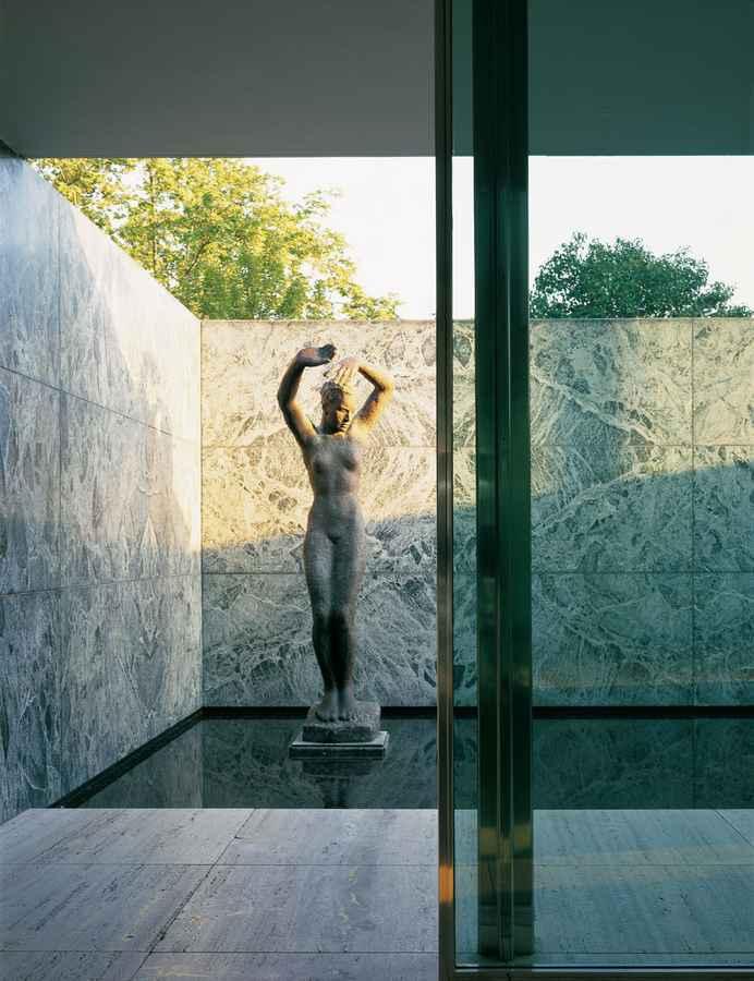 mies van der rohe pavilion barcelona pavilion building e architect. Black Bedroom Furniture Sets. Home Design Ideas