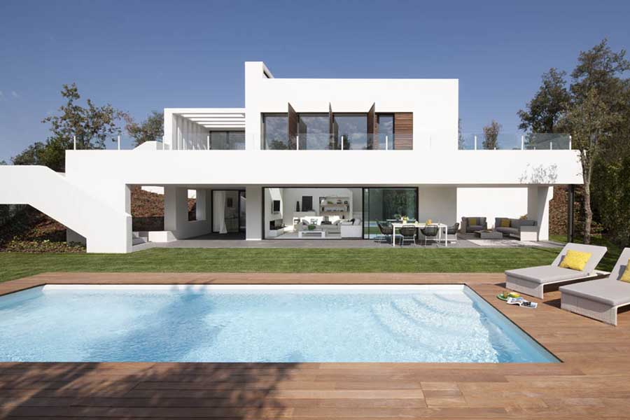 Pga catalunya villas new catalan houses e architect for Houses images pictures