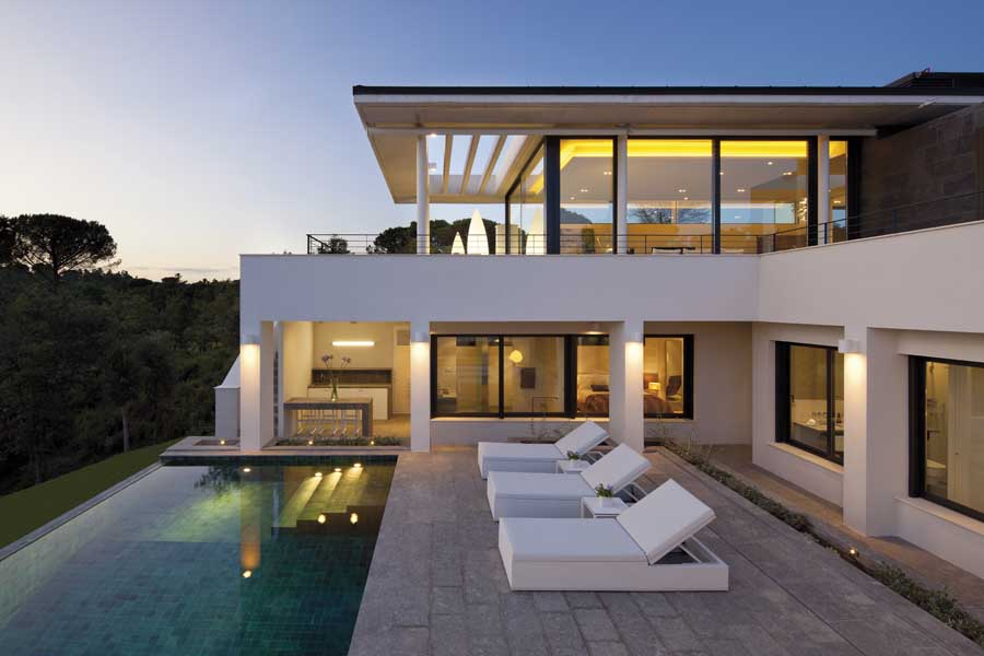 Pga catalunya villas new catalan houses e architect for Villa architect