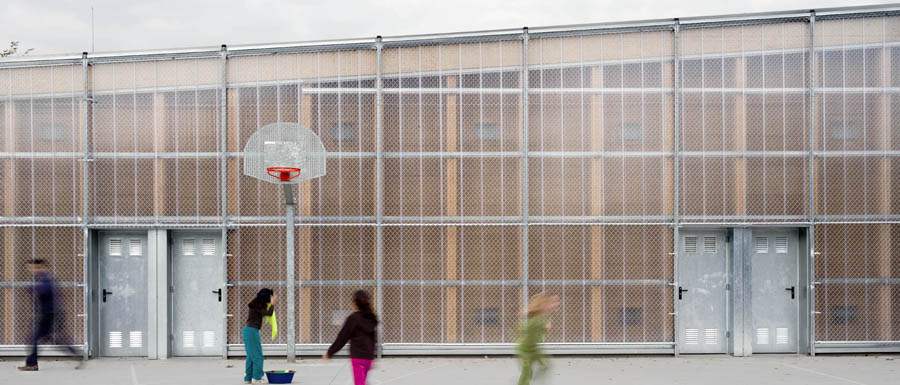 School Gym 704 Barber 224 Del Vall 232 S Gymnasium E Architect