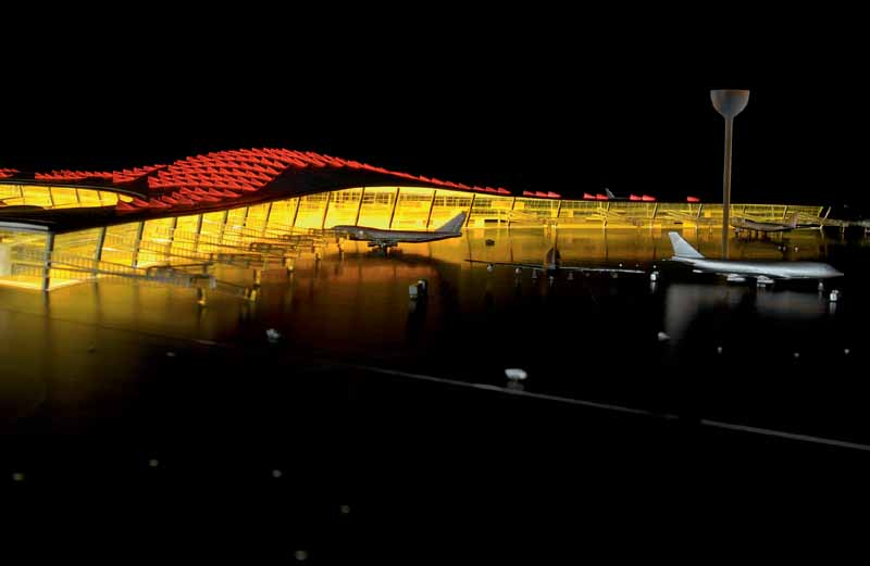 Beijing Airport Building China Capital Airport E Architect