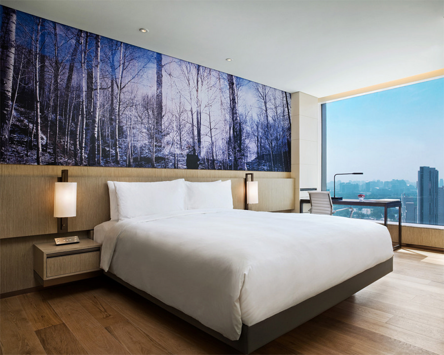 East hotel beijing swire group china chaoyang e architect for East design hotel