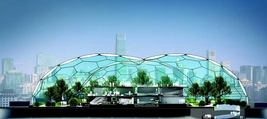 future home design.  LAVA Home Of The Future China Beijing E Architect