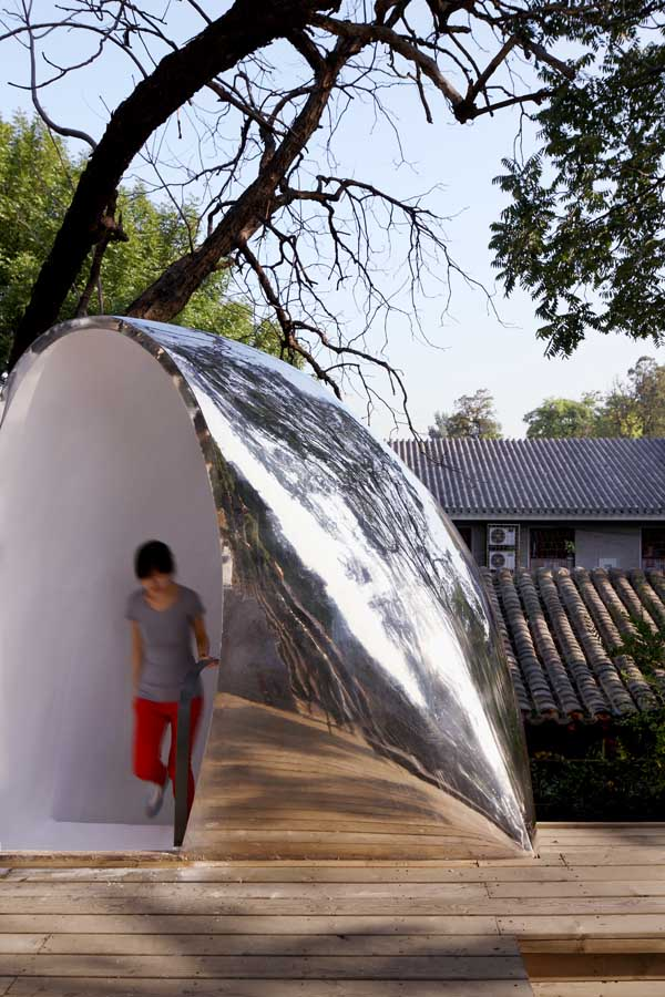Hutong Bubble 32 Beijing Building By Mad Architects E