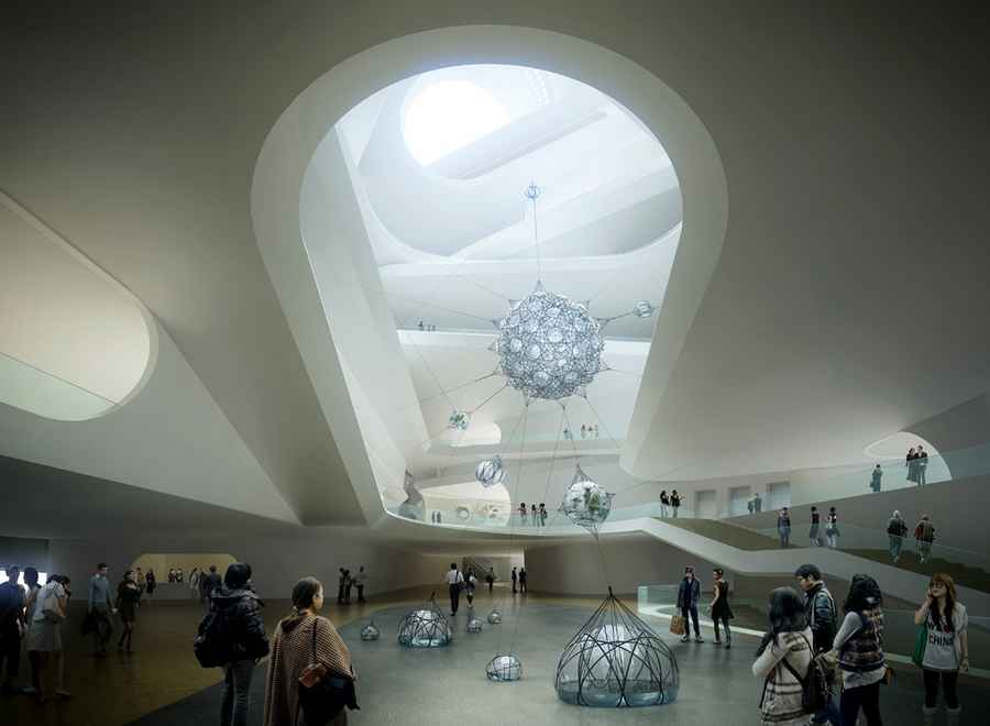 Namoc Beijing National Art Museum China Architect
