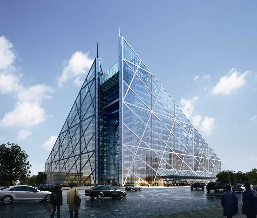 Parkview green beijing building e architect - Architecture of a building ...