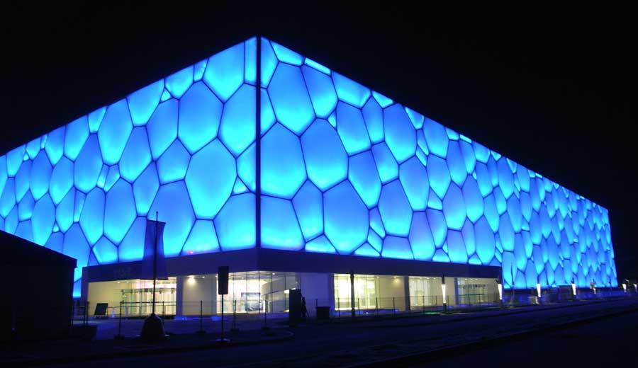 Watercube Beijing National Swimming Centre China E