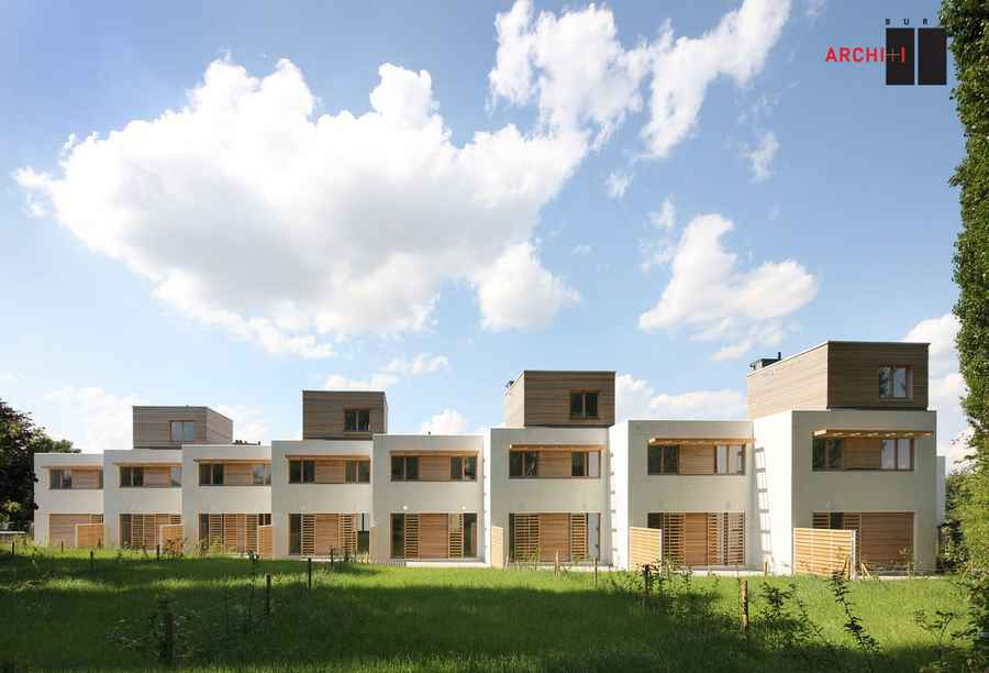 Contemporary housing residential buildings e architect for Best housing projects