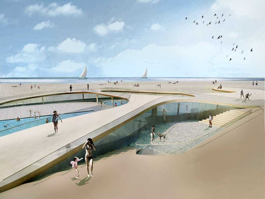 Oostduinkerke Swimming Pool Belgium E Architect