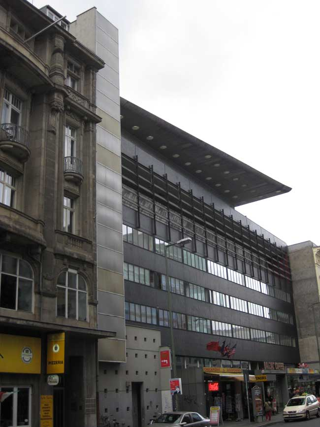 Checkpoint Charlie Rem Koolhaas Berlin Building E Architect