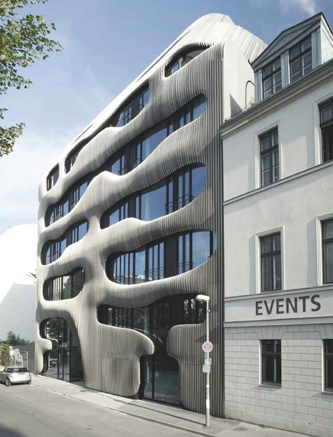 Berlin architecture german buildings e architect for New modern buildings