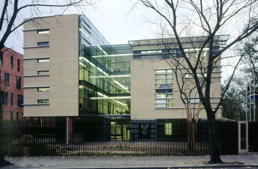 South African Embassy Berlin: Building, Architect, Germany - e-architect