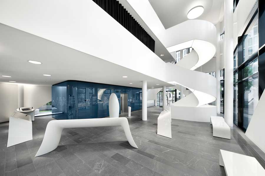 Science center medical technology berlin building e for Interior architecture berlin