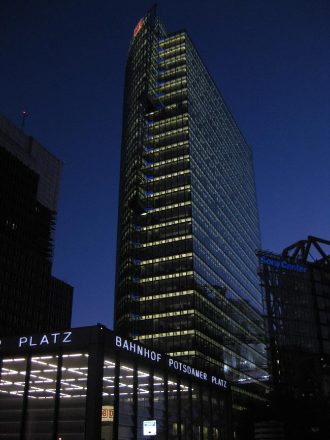Sony Centre Berlin Building Architect Potsdamerplatz