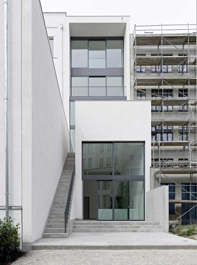 Townhouse o 10 berlin david chipperfield building e for Townhouse design