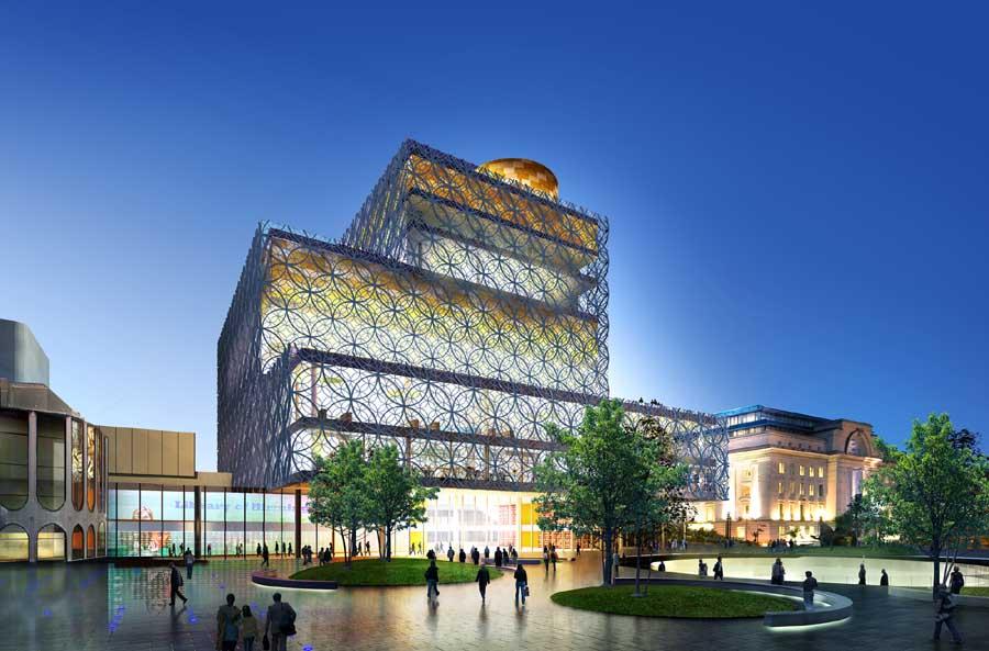 Library Building Designs - E-Architect