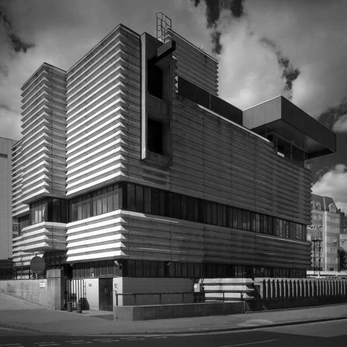 Brutalist Architecture Photos - London Buildings - e-architect