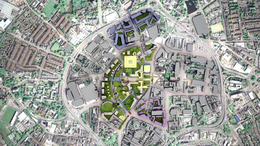 Coventry City Centre Masterplan earchitect