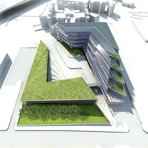 Arup associates london architects uk e architect for Coventry federal plans