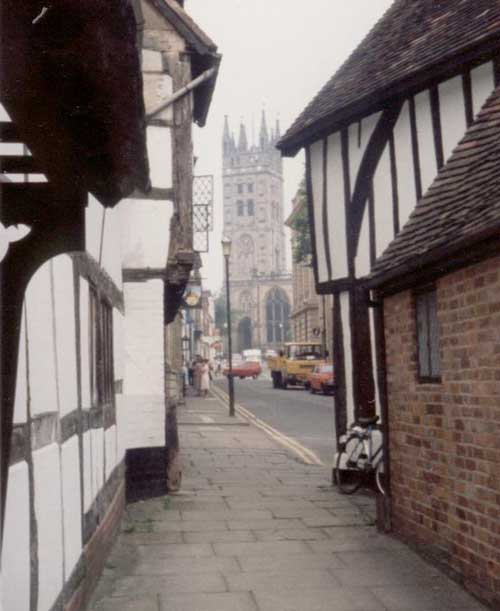 Half Timbered Houses: Half-Timbered Buildings England