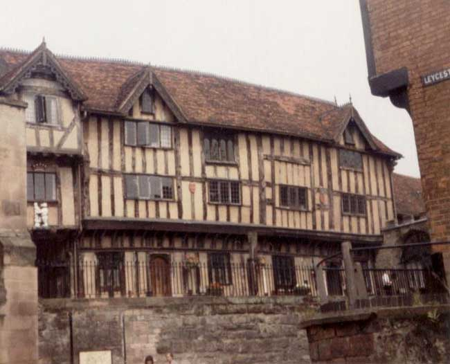 half timbered houses half timbered buildings england e architect. Black Bedroom Furniture Sets. Home Design Ideas