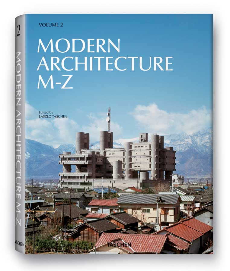 modern architecture   book publication  taschen  architect