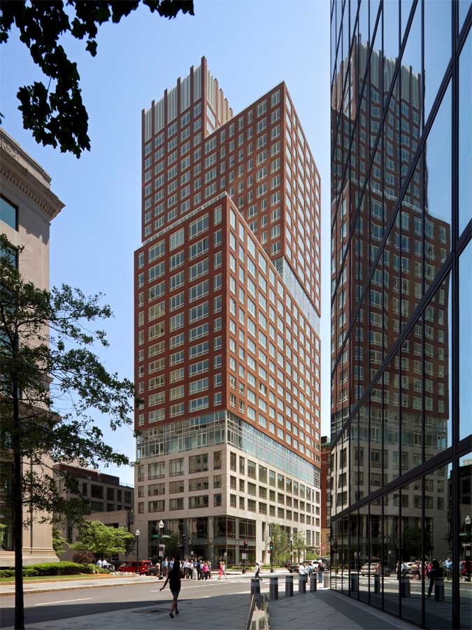 the clarendon boston residential tower earchitect