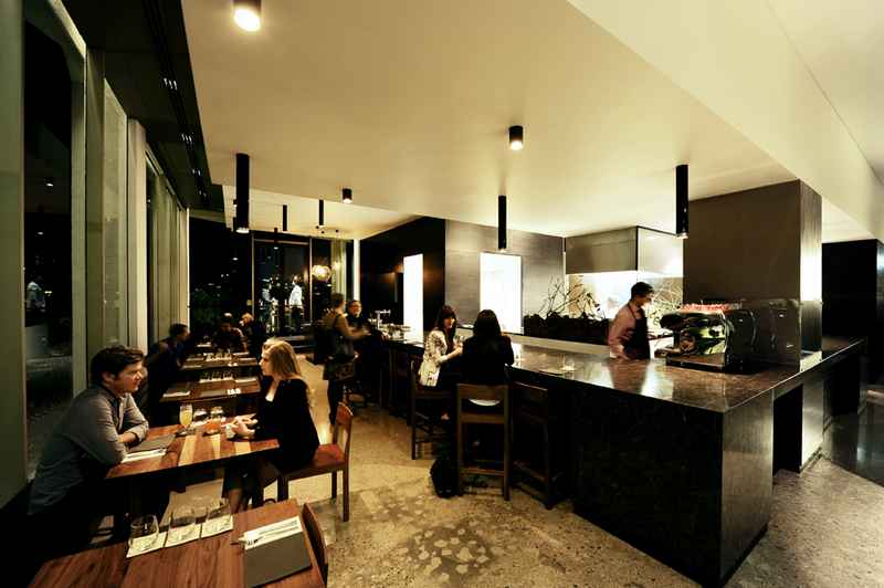 Esquire Restaurant Interior Design Brisbane earchitect