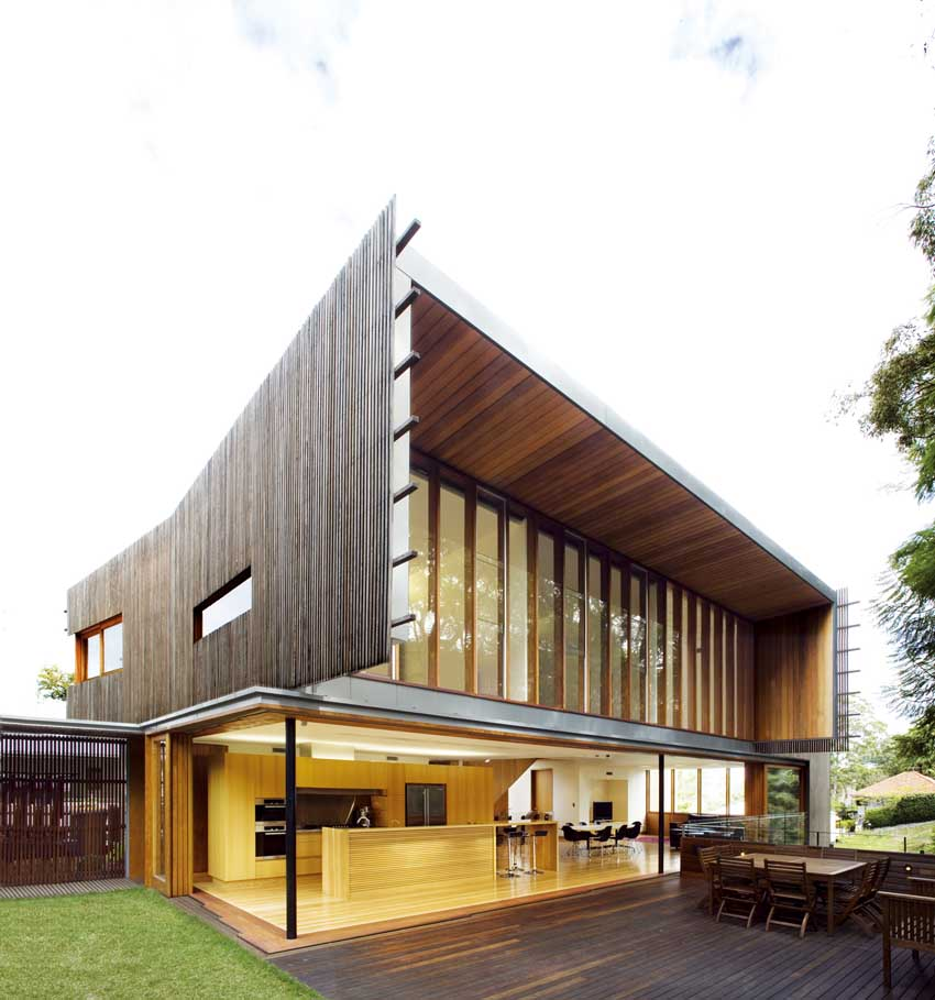 Architecture House And: Highgate Hill Residence, Dornoch Terrace Brisbane