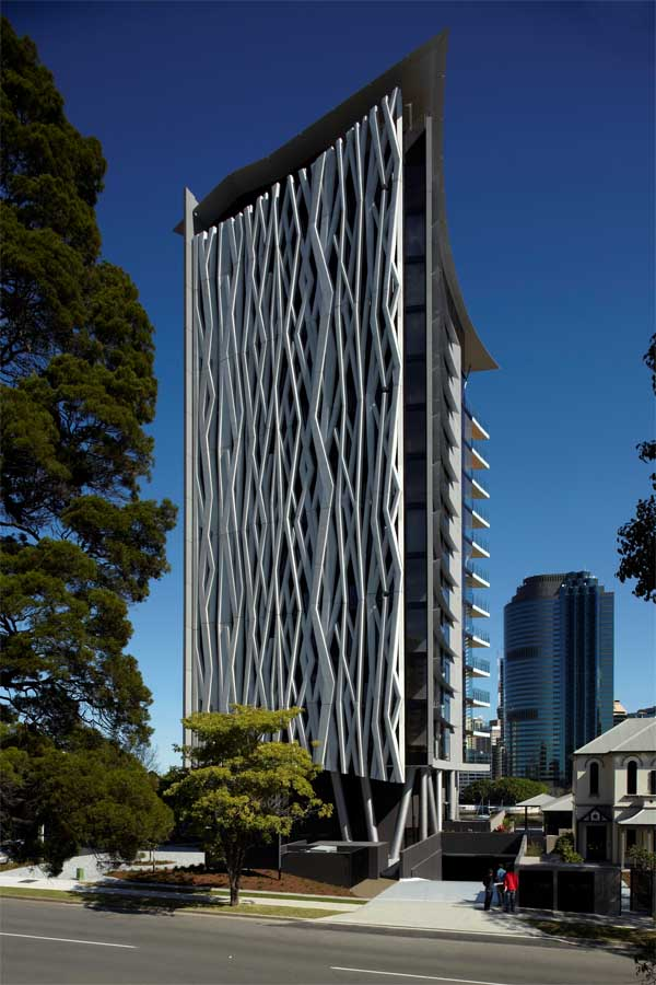 Apartment Building Design Architecture scott street apartments, brisbane housing - e-architect