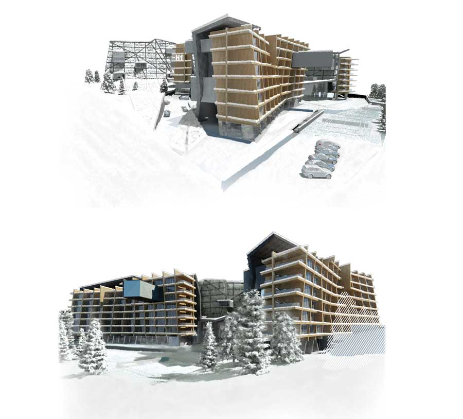 Borovets hotel bulgaria resort buildings e architect for Ski designhotel
