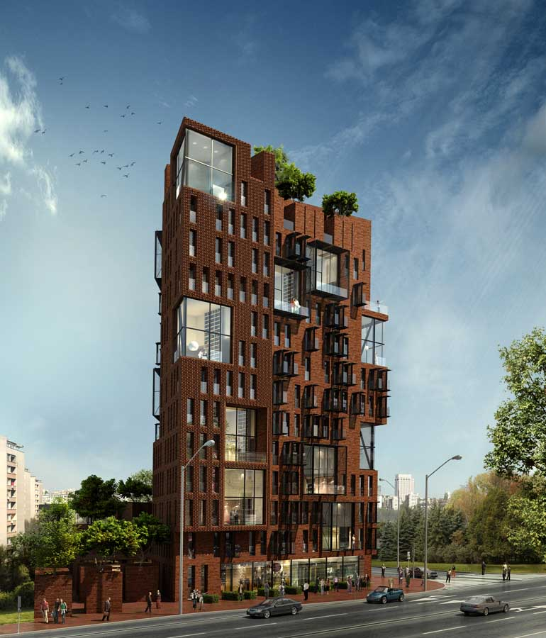 gallery for nice apartment building
