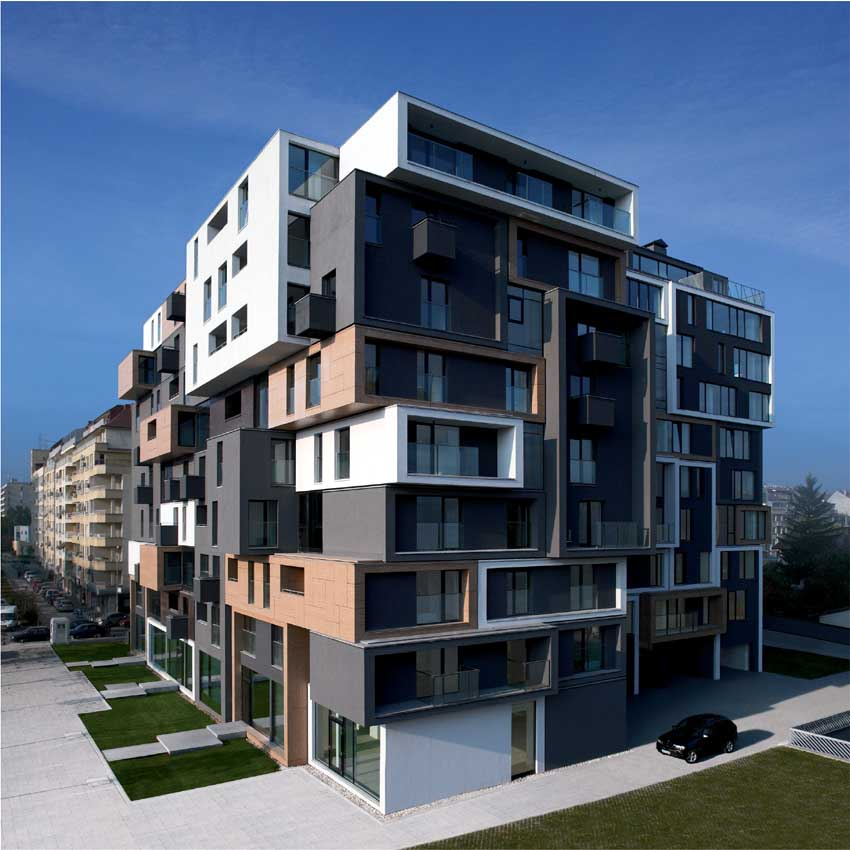 Jaclyn residential office building bulgaria e architect for Residential architect
