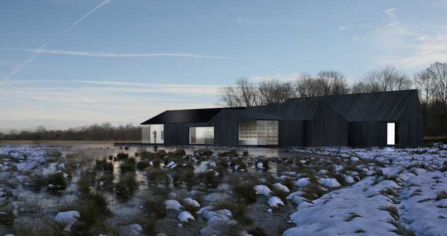 great fen visitor centre design competition earchitect
