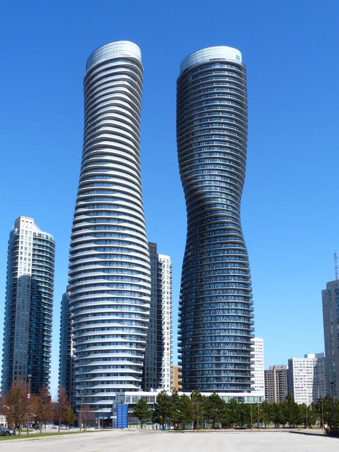 absolute towers marilyn monroe skyscraper canada e