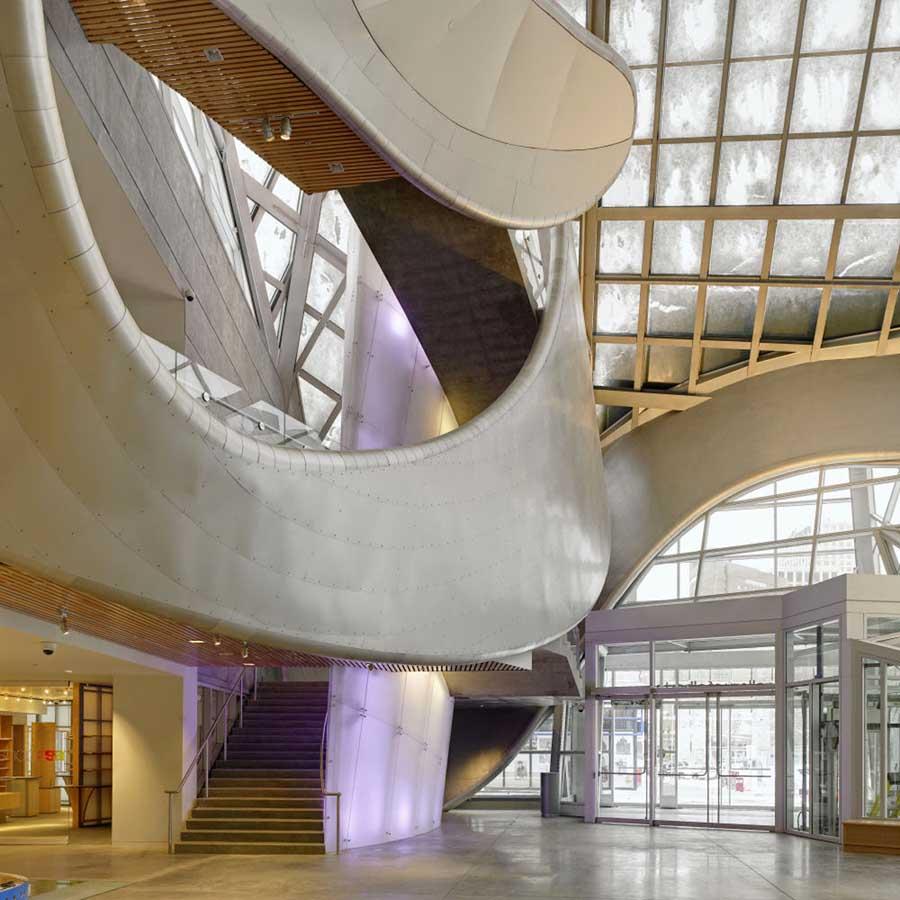 Art gallery of alberta edmonton building e architect for Interior design edmonton