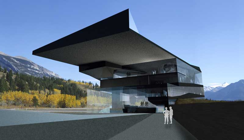 NMC : Canadian Rockies Building, North America