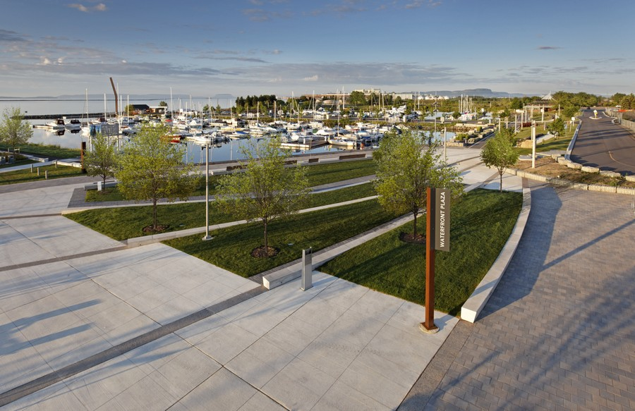 Prince arthur s landing thunder bay waterfront e architect for Canadian society of landscape architects