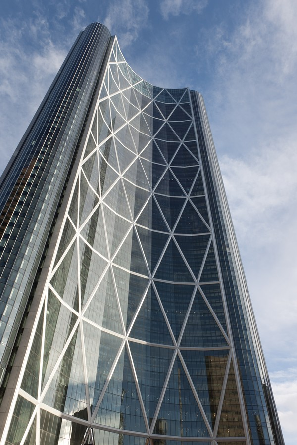 The Bow Calgary Canadian Tower Foster Partners Canada