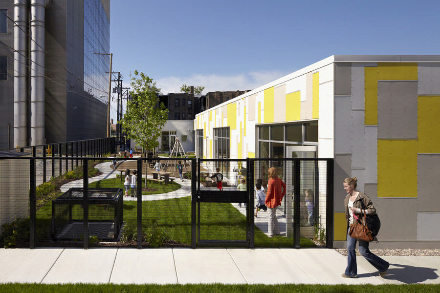 Early Childhood Education And Care Ecec >> Early Childcare Center West at Bright Horizons, Chicago - e-architect