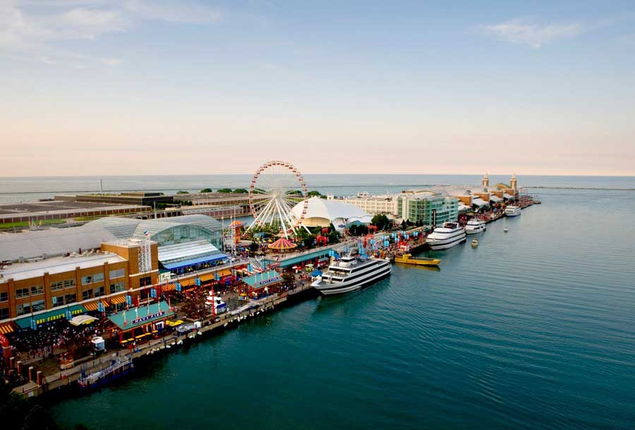Chicago Navy Pier Competition Illinois Design Contest E