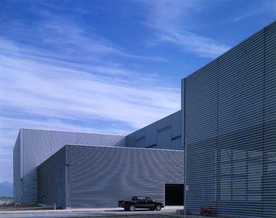 Factory Buildings Industrial Architecture Designs E
