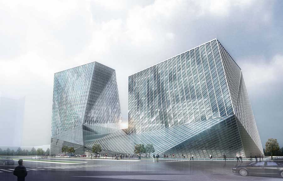 Datong Twin Towers Building Competition China E Architect
