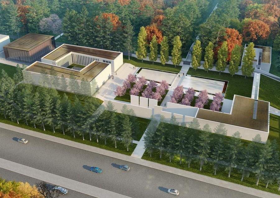 Famen Temple Zen Meditation Centre E Architect