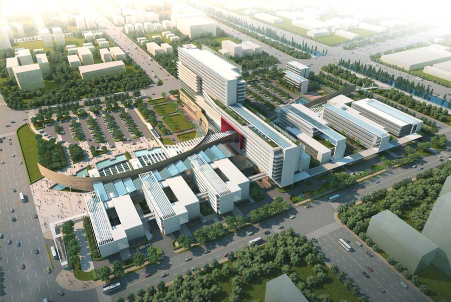 First People S Hospital China Foshan Building E Architect