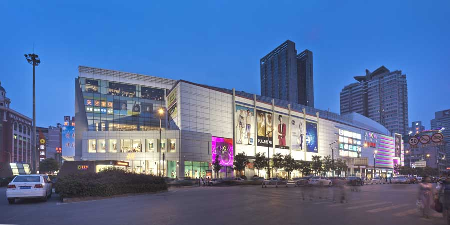 La Nova Shopping Centre Changsha Building E Architect