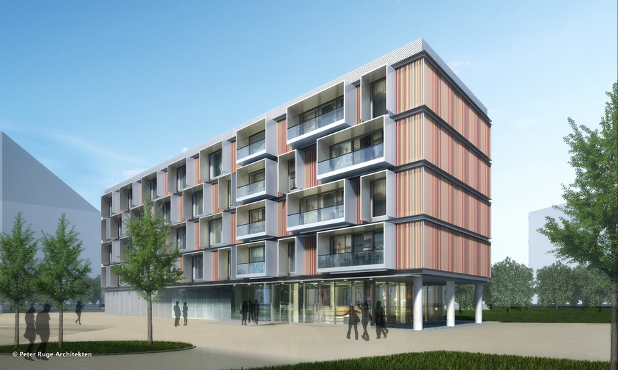 Contemporary housing residential buildings e architect Contemporary housing