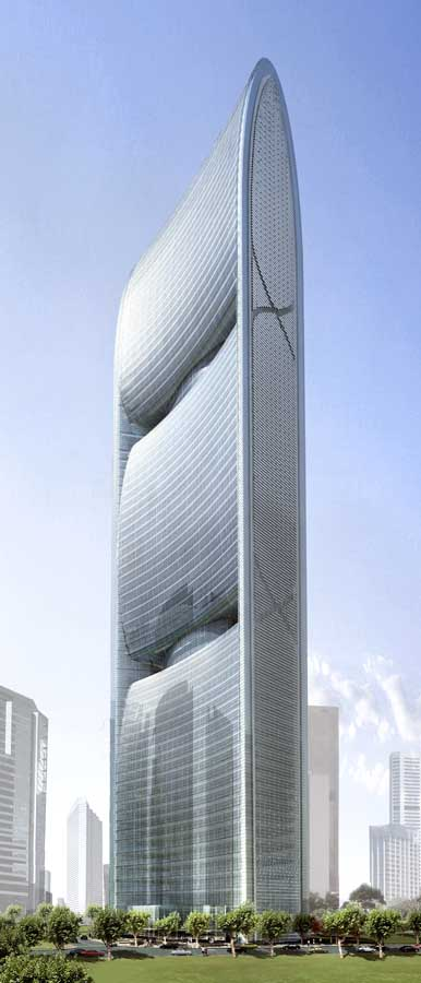 ... River Tower: Guangzhou Skyscraper, Chinese Building - e-architect