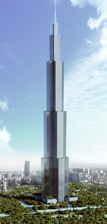 World Tallest Building China